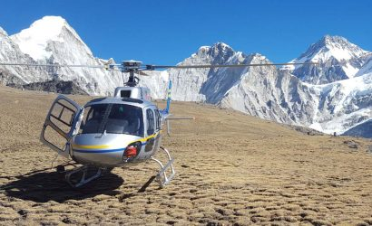 Gorakshep To Kathmandu Helicopter Flight