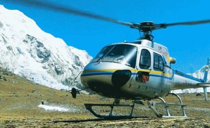 How to book helicopter in nepal