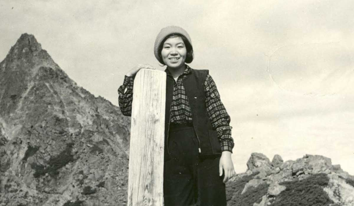Junko Tabei from Japan